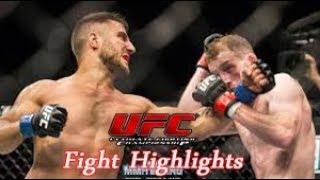 Daniel Teymur x Chris Fishgold - UFC Praga Highlights 2019