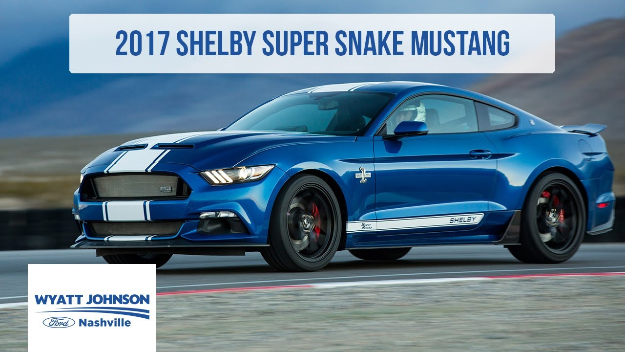 2017 Shelby Super Snake Mustang FOR SALE