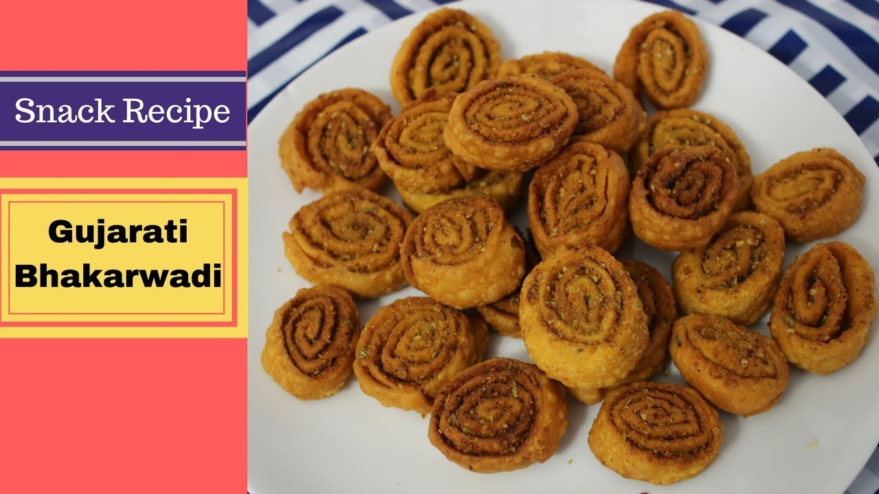 Bhakarwadi Tea Time Snack recipe step by step | Recipes ...