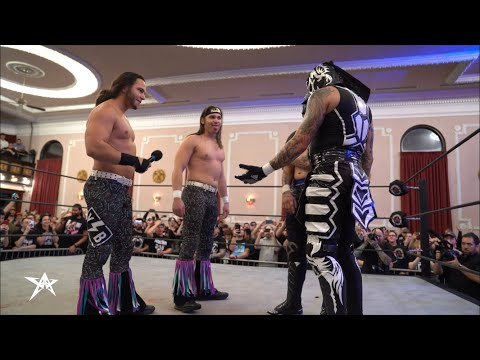 The Young Bucks Invade AAW And Attack The Lucha Bros. | AAW Pro Wrestling