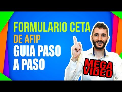 Formulario CETA de AFIP Guía PASO A PASO - MEGA VIDEO [ transferencia automotor ]