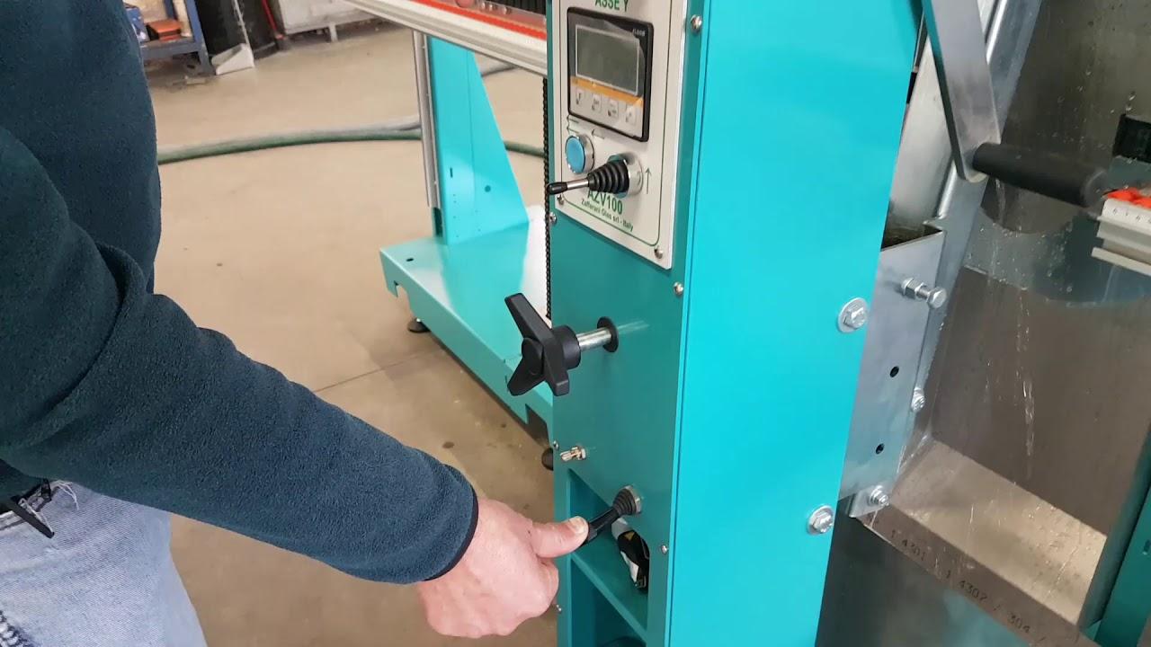 AZV 160 CN - lavorazione - processing
