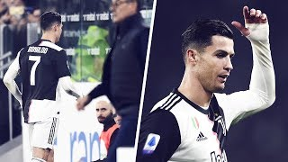 The reason why Cristiano Ronaldo was replaced against AC Milan | Oh My Goal