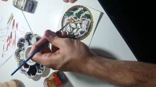 Diego Jandoza - Pintura Time Lapse