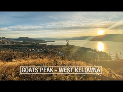 Goats Peak Hiking Trail In West Kelowna. Yeah Or Naa?