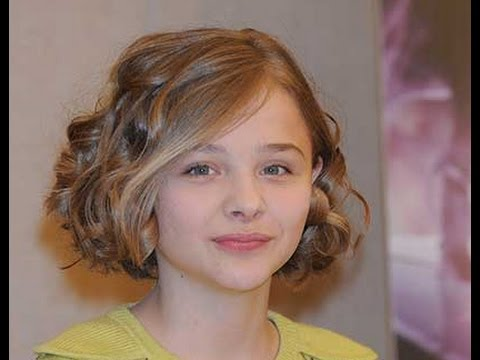 Short Hairstyles For Kids Girls With Curly Hair Youtube