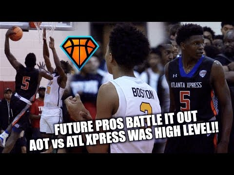 FUTURE PROS Anthony Edwards & Brandon 'BJ' Boston BATTLE IT OUT at #IHTOC!! | AOT vs ATL Xpress