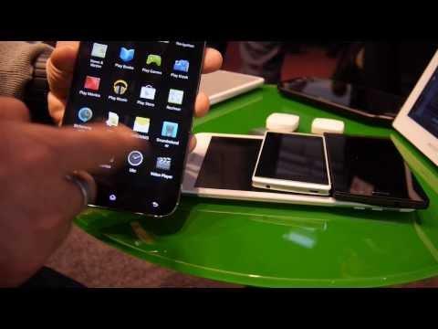 Archos 64 Xenon Smartphone Hands On