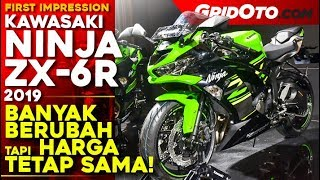 Kawasaki Ninja ZX-6R 2019 | First Impression Review l GridOto
