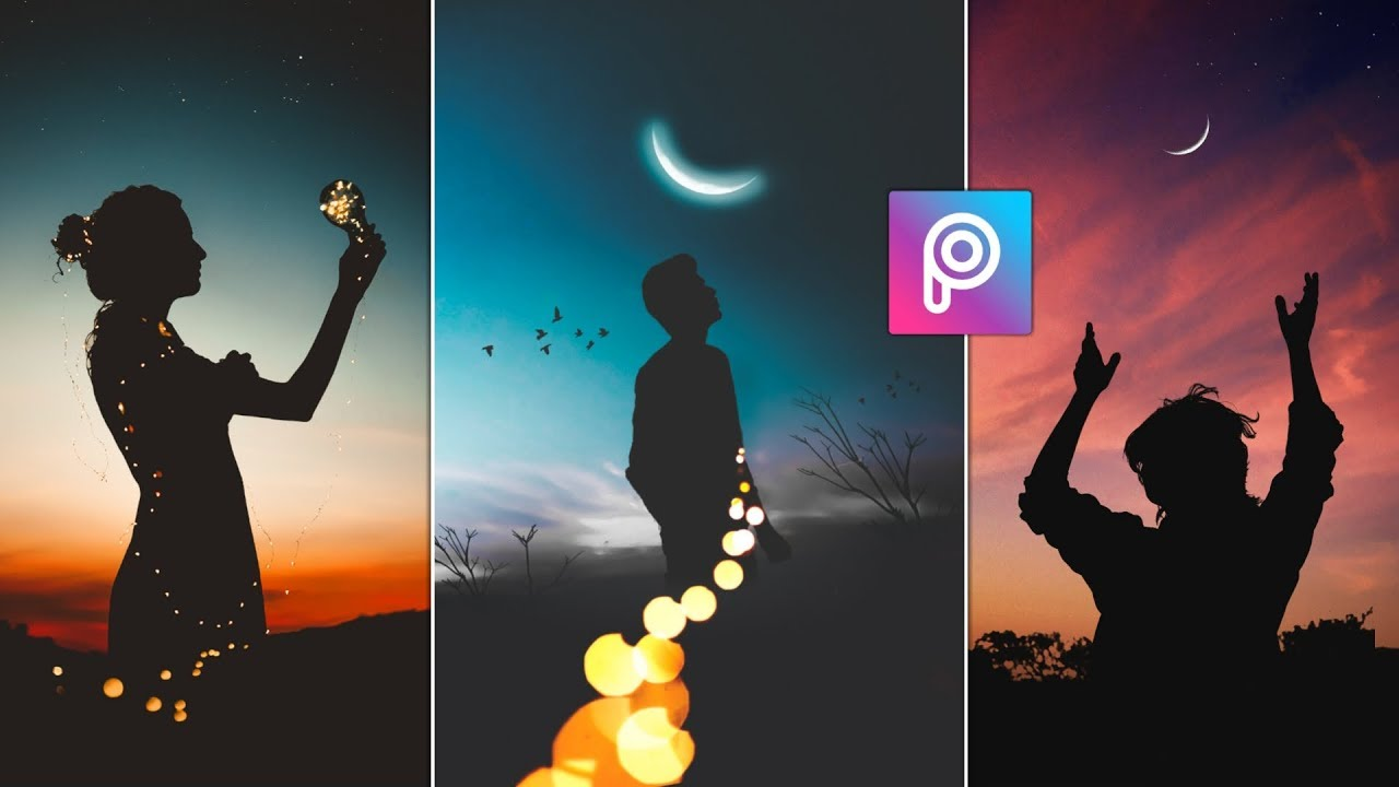 Download Instagram Popular Dark Shadow Photo Editing in PicsArt || AC EDITING ZONE 🔥