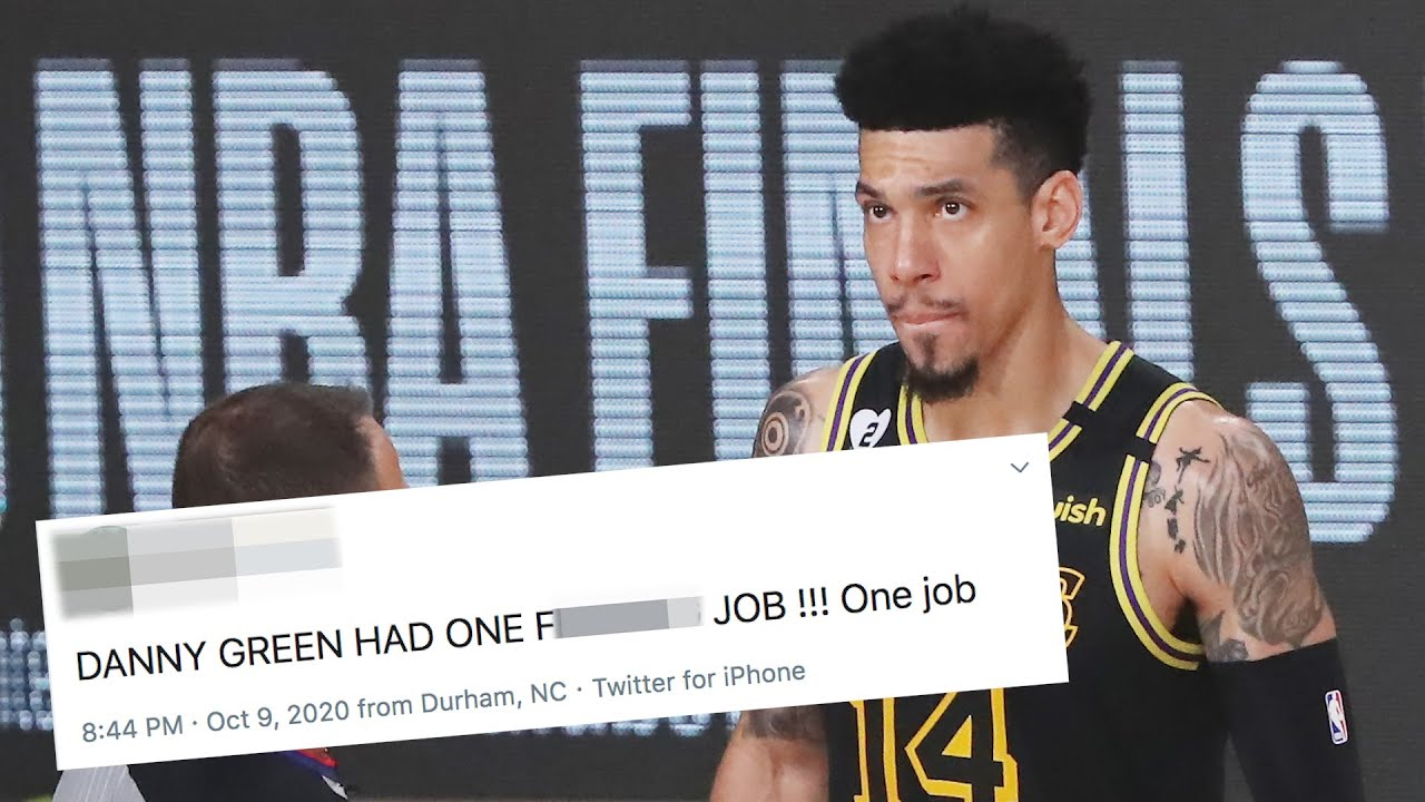 Danny Green Gets Demolished On Twitter For Attempting Game Winning Shot In Game 5 Nba Finals 2020 Youtube