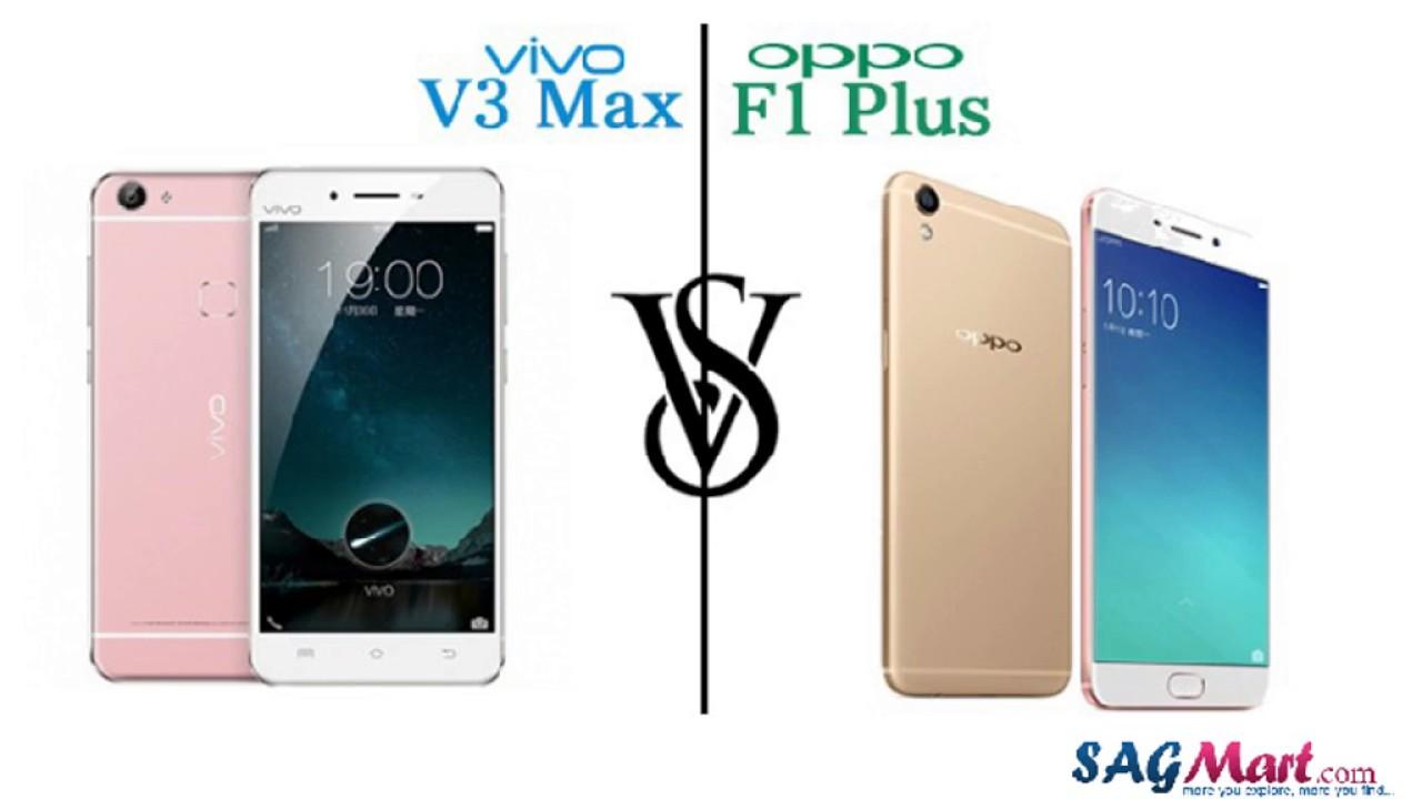 Download Comparison Between Vivo V3 Max vs OPPO F1 Plus