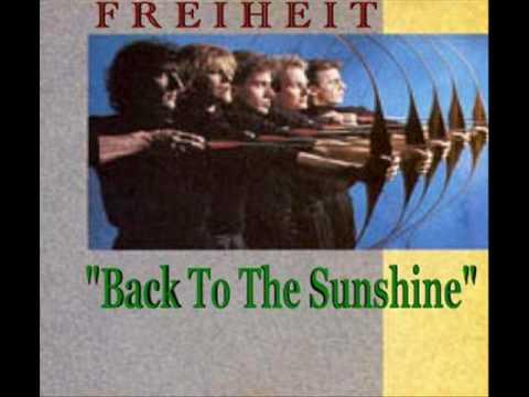 MUNCHENER FREIHEIT- BACK TO THE SUNSHINE (ENGLISH)