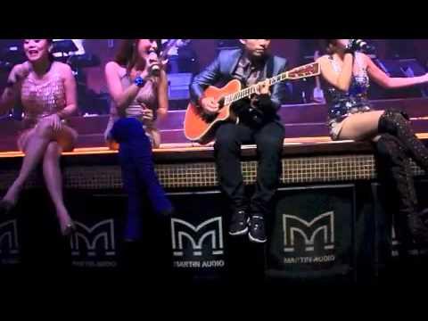 Tqla gangnam style live @ADORA club Bali 8 februari 2013
