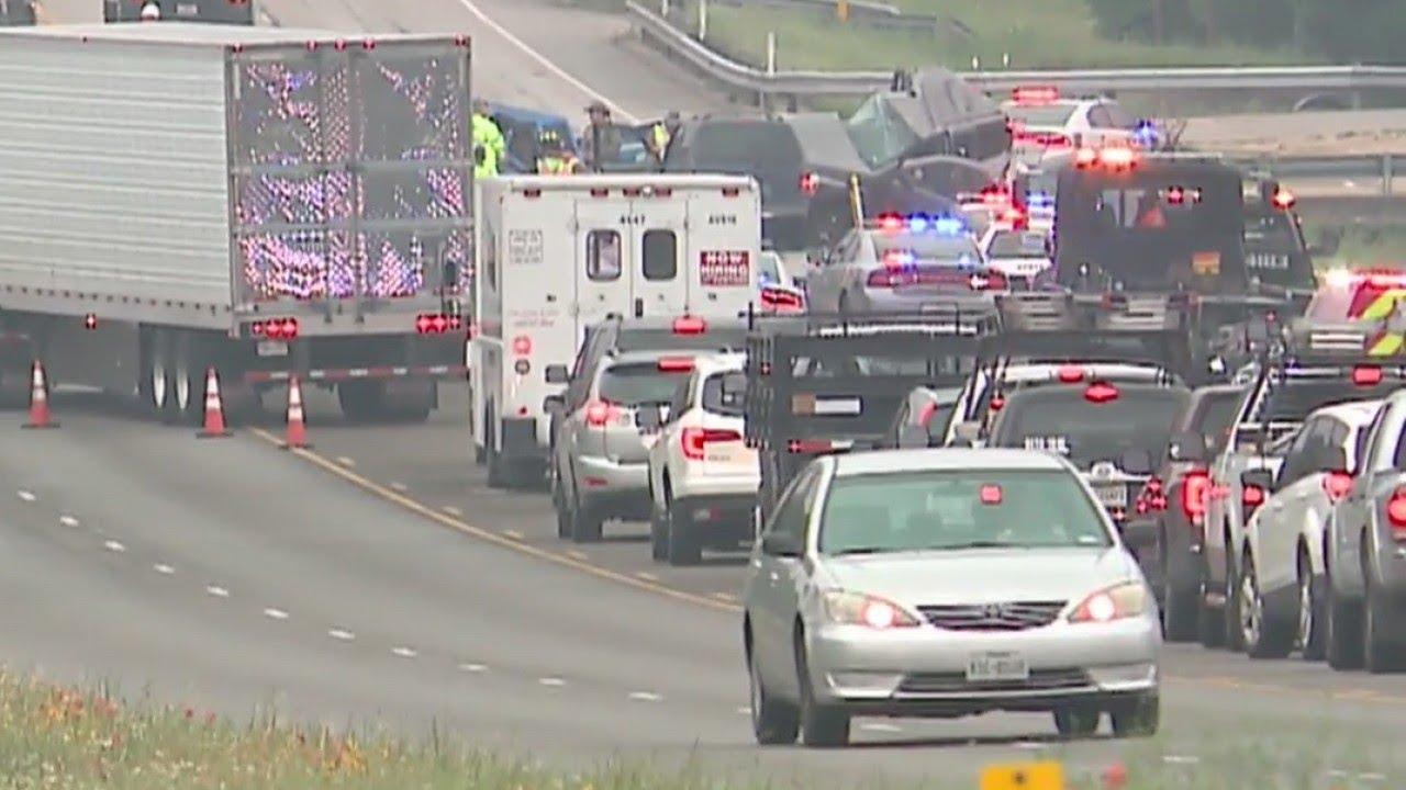 MAJOR WRECK: 1 dead, 5 hurt in rollover on US 290 near Dripping Springs