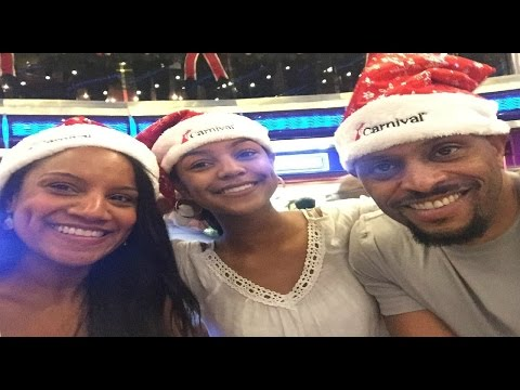 Carnival Sensation Christmas Cruise 2016
