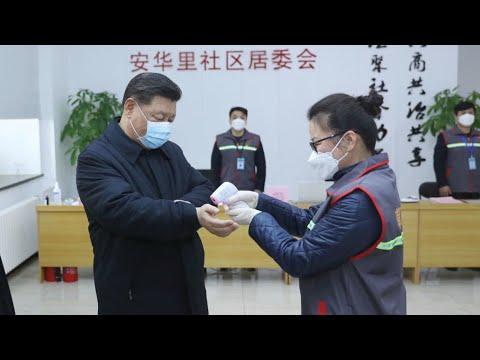 Coronavirus: en visite dans un hôpital, Xi Jinping appelle à des mesures