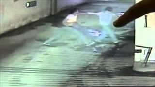 VIDEO: Un homme est filmé abuser et frapper une femme dans un parking souterrain
