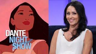 La talentosa Nathalia Hencker, voz de Pocahontas y de la querida Vilma Picapiedra – Dante Night Show