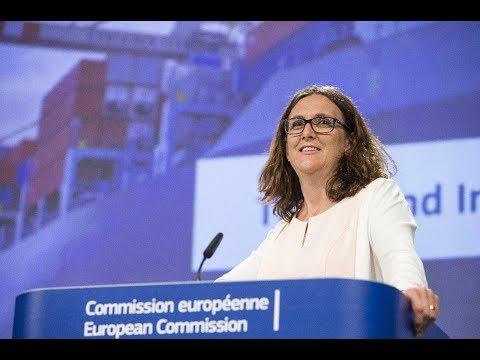 EUdialogues с комисар Cecilia Malmström