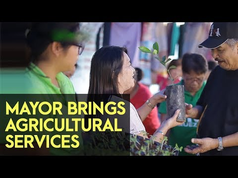 Lucban Quezon: Karaban ni Mayor brings agriculture services in all barangays