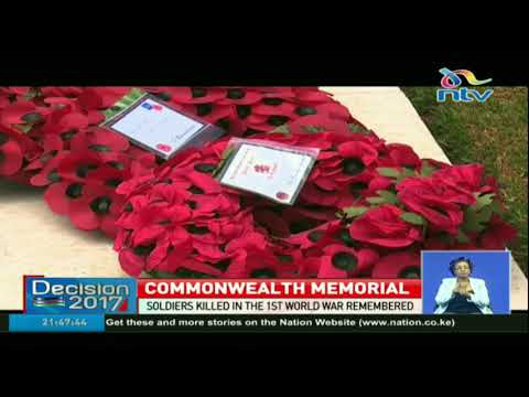 Soldiers killed in the 1st World War remembered