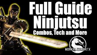 Download Video Ninjutsu Scorpion Combo and Strategy Guide   Mortal Kombat X MP3 3GP MP4