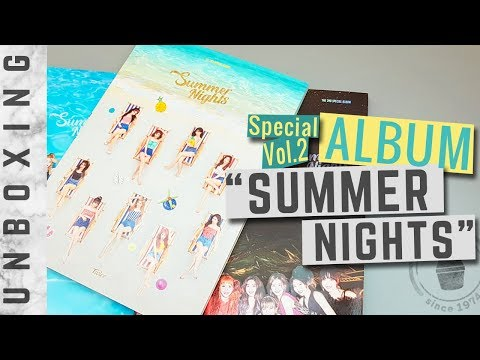 [Unboxing] TWICE 'Summer Nights' (All 3 Versions) 2nd Special Album