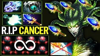 NEW IMBA Medusa Secepter Meta 100% Counter by Miracle Hard Carry Dota 2 gameplay