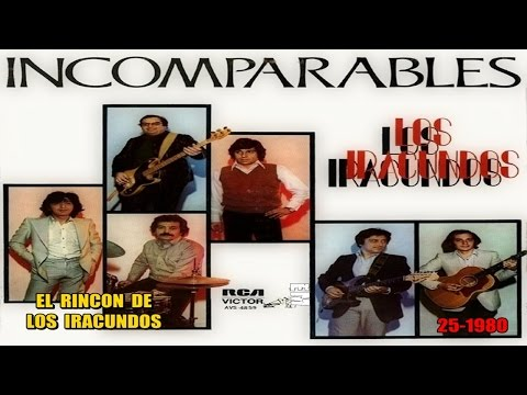 LOS IRACUNDOS - 25 álbum INCOMPARABLES * 1980