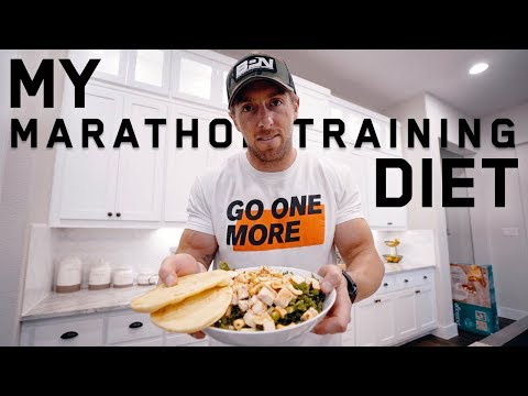 My Marathon Training Diet | FULL DAY OF EATING
