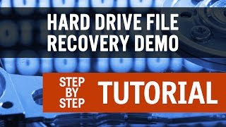 Hard Drive File Recovery - Done Easy
