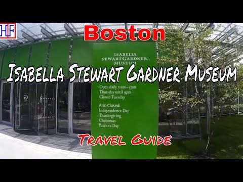 Boston | Isabella Stewart Gardner Museum | Tourist Attractions | Episode# 13