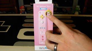 Princess Peach Controller Unboxing - Wii U Remote Plus