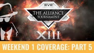 EVE Online Alliance Tournament XIII 2015 with Laz and Elise Randolph: Part 5