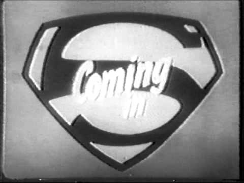 B/W Previews From the 1950s Superman TV Show!!!
