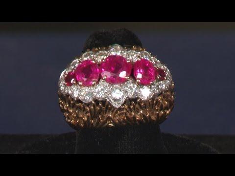 David Webb Burmese Ruby & Diamond Ring   Web Appraisal   Santa Clara