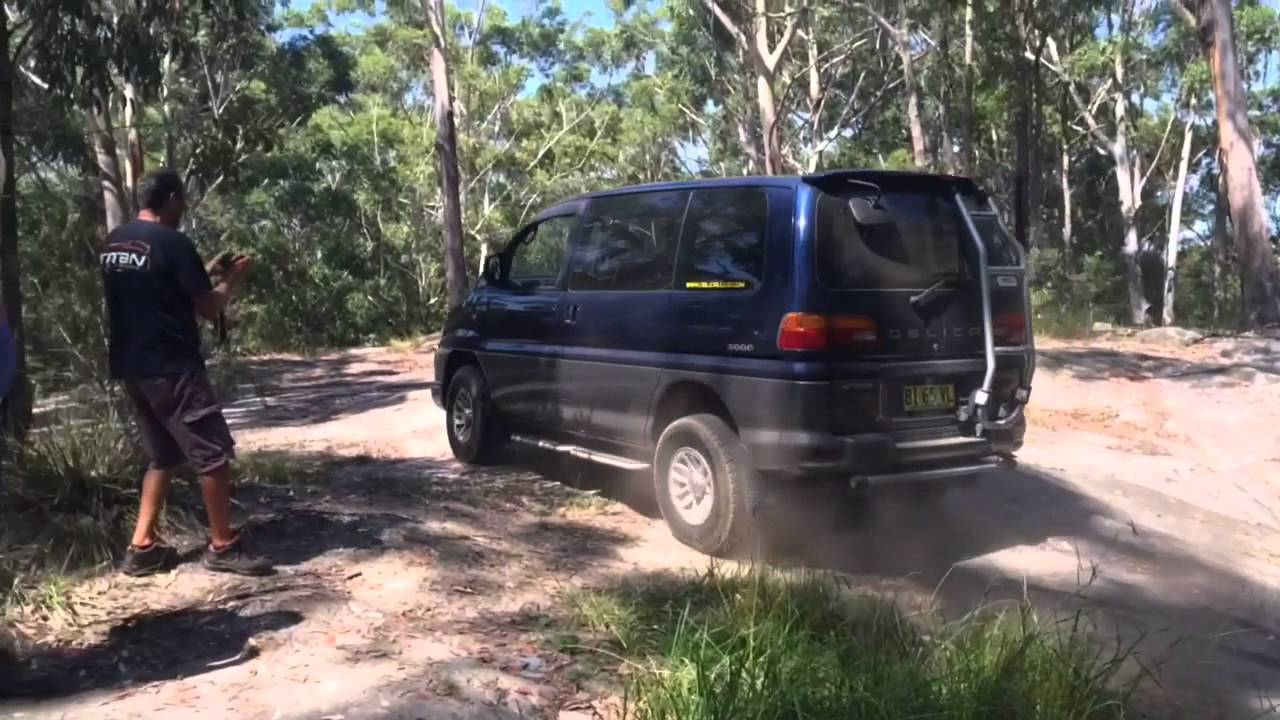 Delica 4WD meet, Ourimbah SF