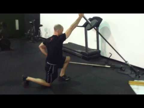 Half Kneeling Landmine Press