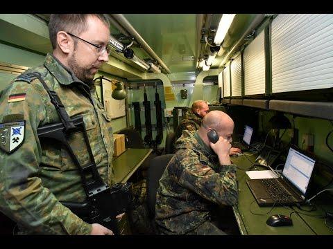 Großübung der Bundeswehr im Kreis Soest