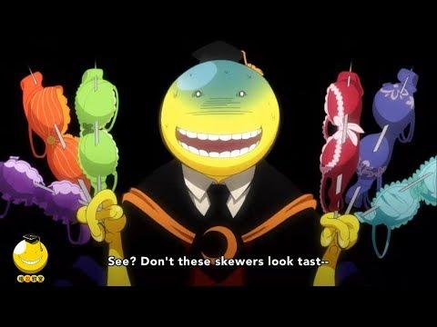 暗殺教室 第2期 -  面白い瞬間    Ansatsu Kyoushitsu Funny Moments #01
