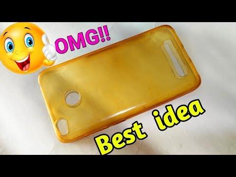Mobile Cover Decoration   DIY Phone Case Design   Best Out Of Waste Mobile Cover   DIY Mobile case