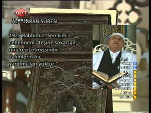 AHMED NAİNA ALİ İMRAN SURESİ RAMAZAN...