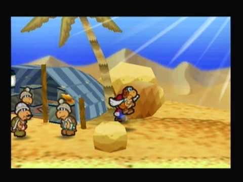 (014) Paper Mario 100% Walkthrough - The Secrets of the Desert