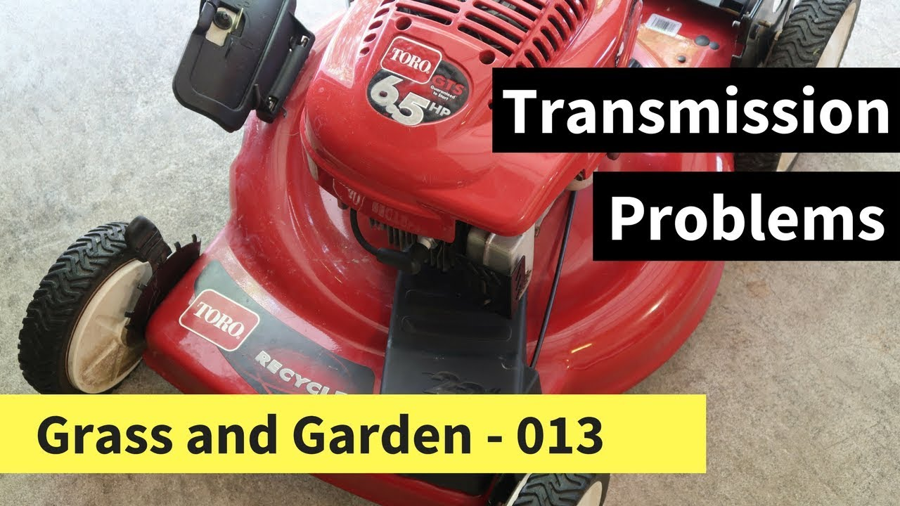 How to Repair and Replace a Toro Lawn Mower Transmission