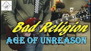 Bad Religion - Age Of Unreason - Guitar Cover (Tab in description!)