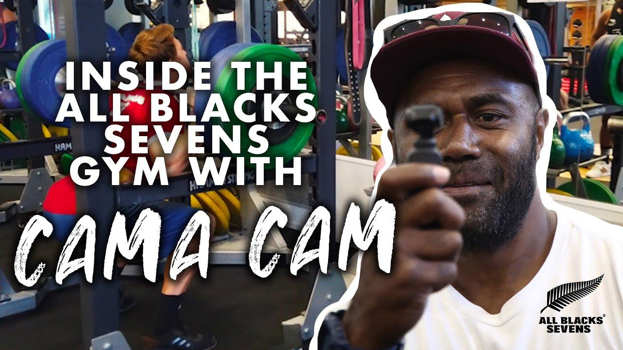 Cama Cam: Inside the All Blacks Sevens gym