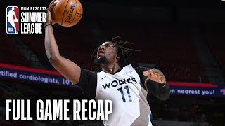 NETS vs TIMBERWOLVES | Naz Reid Leads Wolves To Championship Game | MGM Resorts NBA Summer League