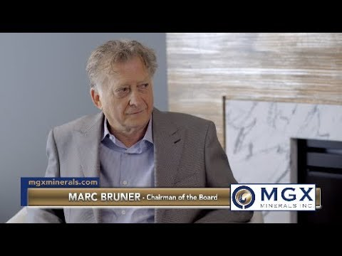 Interview with MGX Minerals Inc. (CSE: XMG) (OTCQB: MGXMF) (FKT: 1MG) Chairman Marc Bruner
