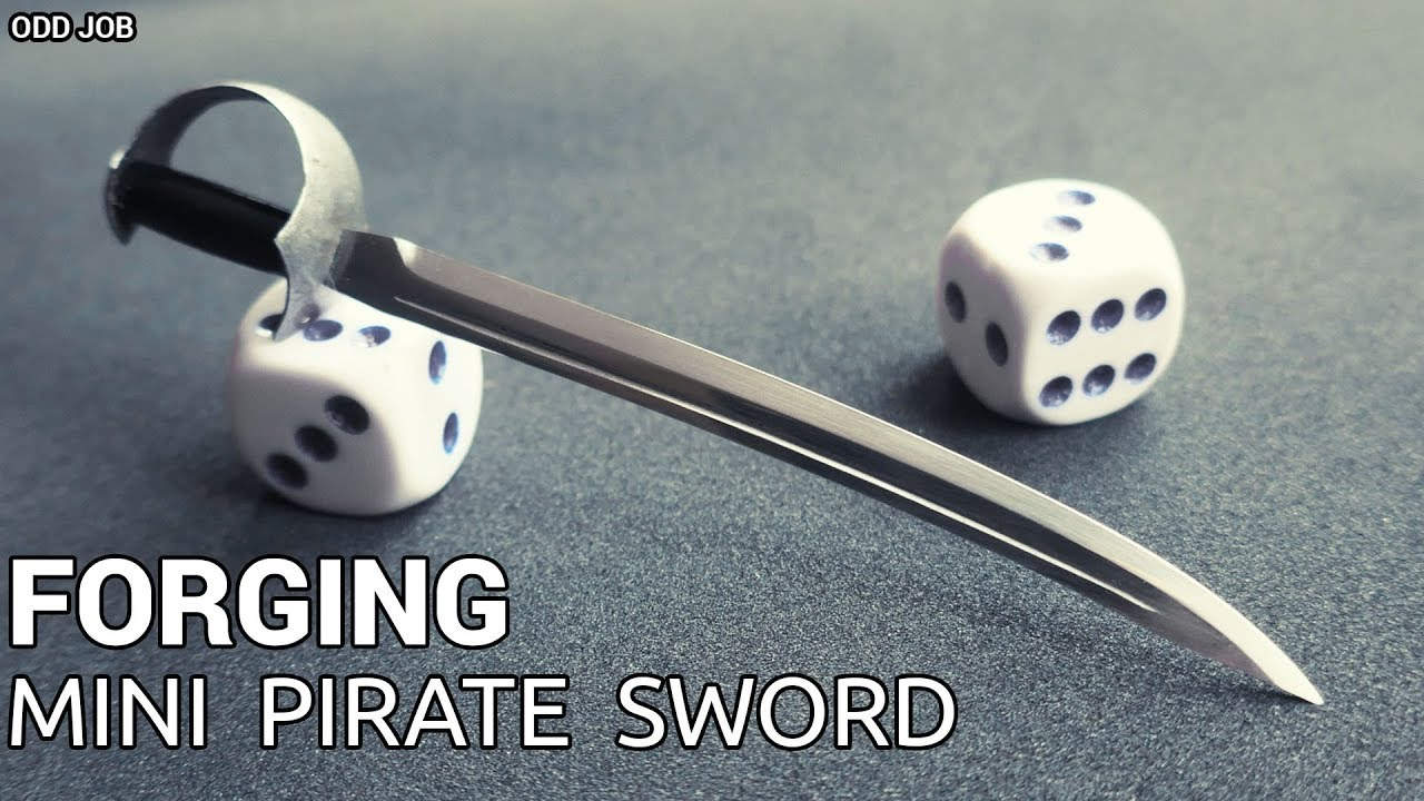 Forging Miniature Pirate SWORD (YAAAR!!!)